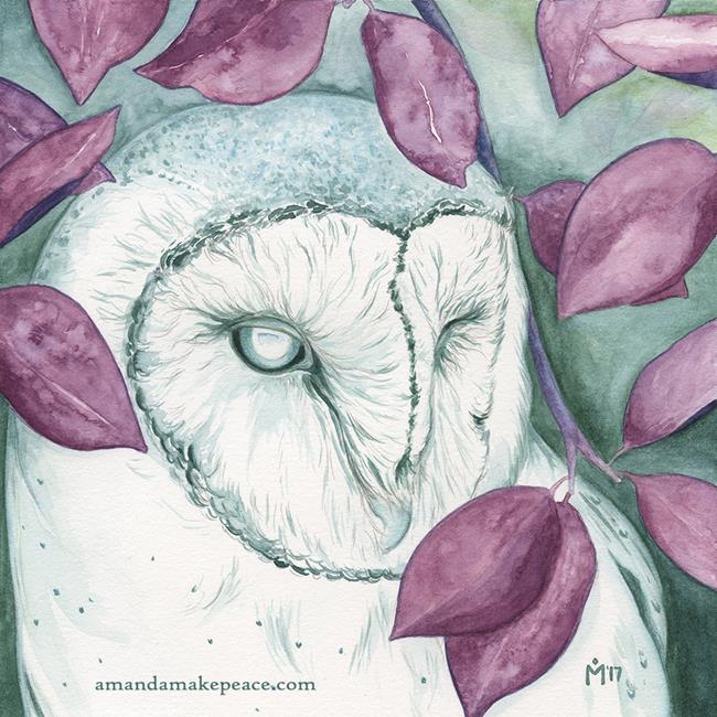 Art: Larua by Artist Amanda Makepeace
