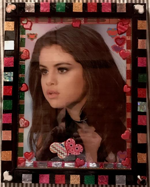 Art: Selena Gomez Art From The Heart... by Artist William Powell Brukner