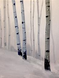 Art: Snow Day by Artist Christine E. S. Code ~CES~