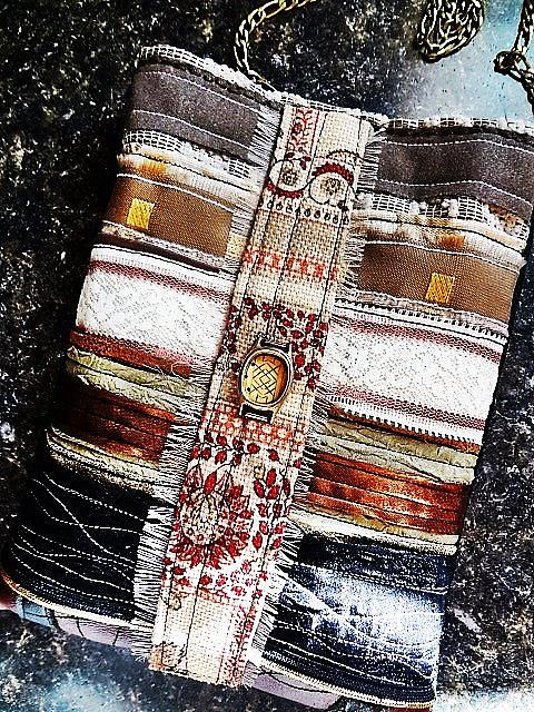 Art: Boho Purse #5 by Artist Vicky Helms