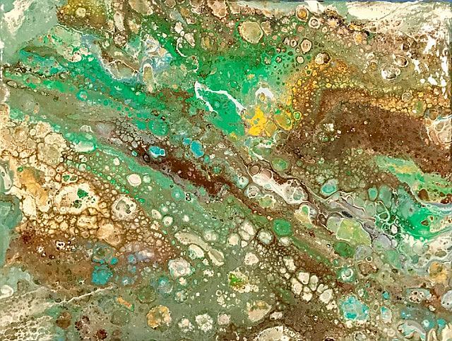 Art: Marbles by Artist Ulrike 'Ricky' Martin