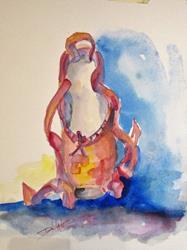 Art: Pointe Shoe Ballet by Artist Delilah Smith