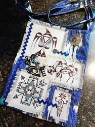 Art: Boho Purse #8 by Artist Vicky Helms