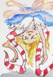 Art: Peek-a-Boo by Artist Delilah Smith