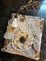 Art: Boho Purse #9 by Artist Vicky Helms