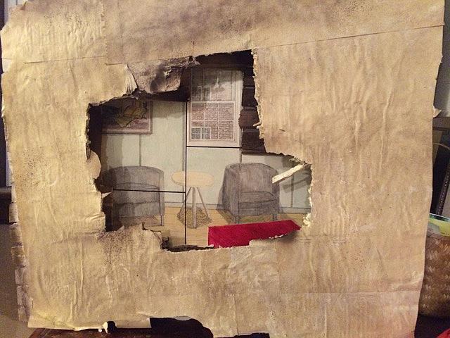 Art: Room Next Door by Artist Art ByGeorge!