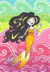 Art: Friendly Wave by Artist Emily J White