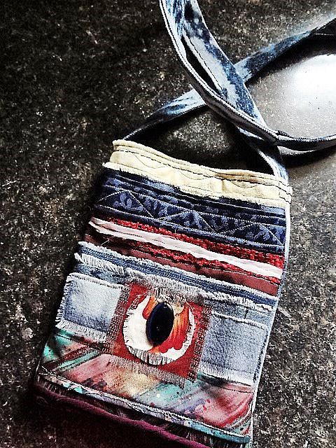 Art: Boho Purse #11 by Artist Vicky Helms