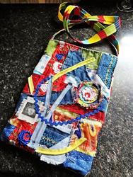Art: Boho Purse #12 by Artist Vicky Helms
