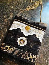 Art: Boho Purse #16 by Artist Vicky Helms