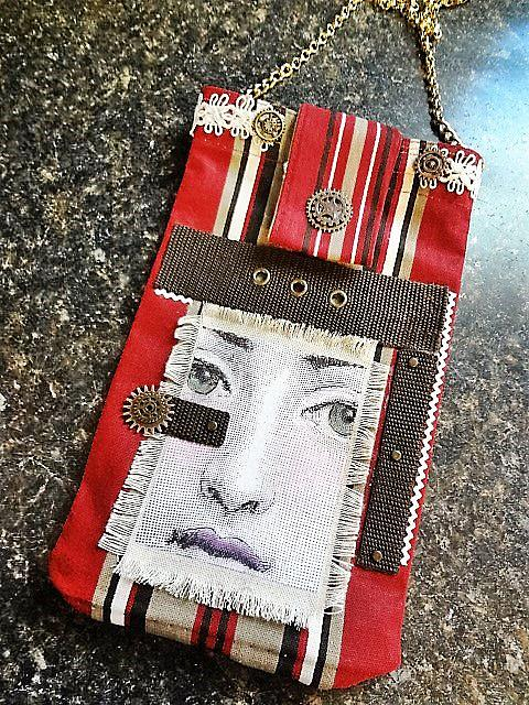 Art: Boho Purse #18 by Artist Vicky Helms