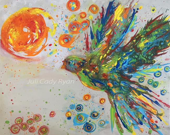 Art: The Colors of Peace II by Artist Juli Cady Ryan
