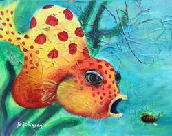 Art: Bellow Fish 1667 by Artist Ke Robinson
