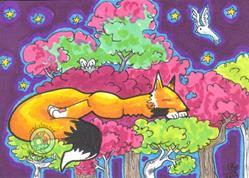 Art: Dream Trees 5 by Artist Emily J White