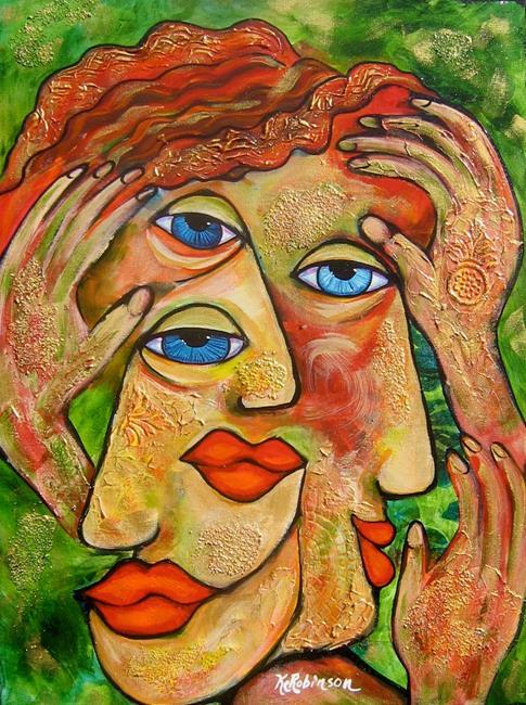 Art: Ah Tres Bien _ I see Very Well by Artist Ke Robinson