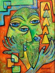 Art: Have You Heard? by Artist Ke Robinson