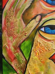 Detail Image for art Ah Tres Bien _ I see Very Well