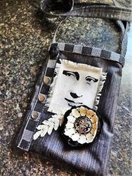 Art: Boho Purse #20   Front by Artist Vicky Helms