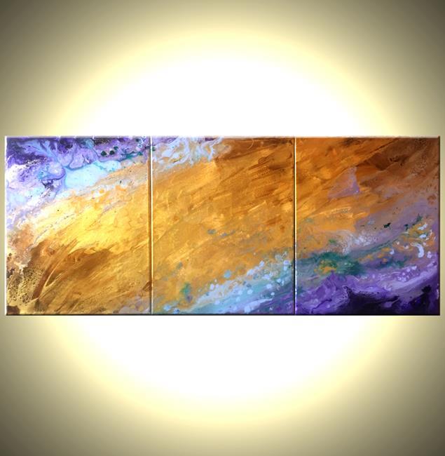 Art: SUNSET RAINCLOUDS by Artist Daniel J Lafferty