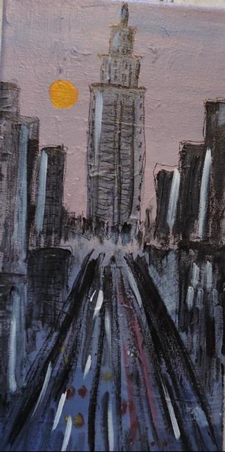Art: empire state by Artist Nancy Denommee