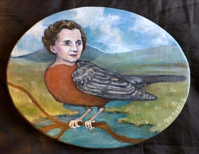 Art: No Silent Springs (Rachel Carson) by Artist Patience