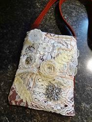 Art: Boho Purse #24 by Artist Vicky Helms