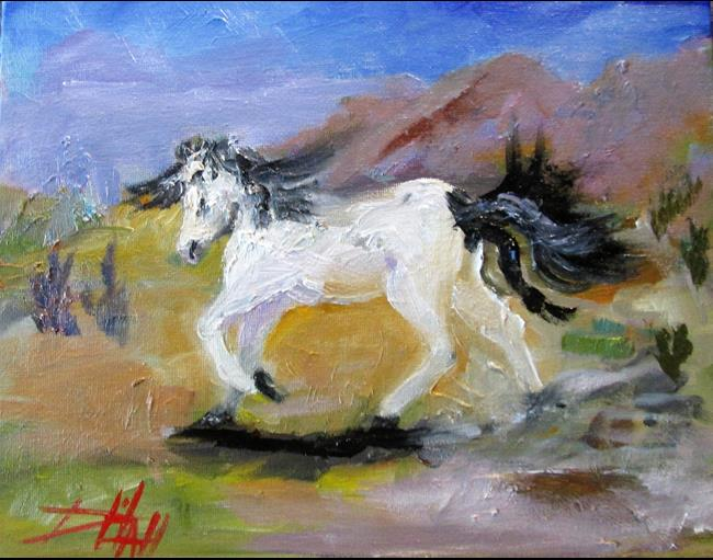 Art: Horse by Artist Delilah Smith