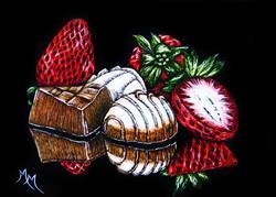 Art: Dessert is Magical  (SOLD) by Artist Monique Morin Matson