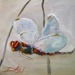 Art: Dragonfly by Artist Delilah Smith