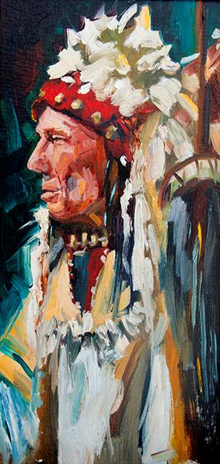 Art: Native Son by Artist Diane M Whitehead