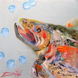 Art: Trout No.6 by Artist Delilah Smith