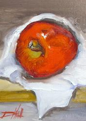 Art: Apple No.2 by Artist Delilah Smith