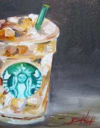 Art: Iced Coffee by Artist Delilah Smith