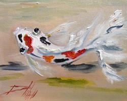 Art: Koi No.8 by Artist Delilah Smith