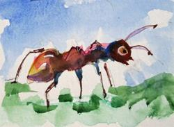 Art: Ant by Artist Delilah Smith