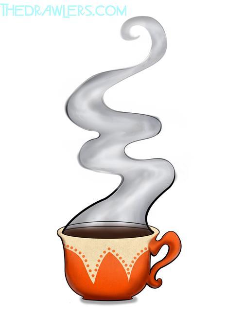 Art: Coffee Break by Artist TheDrawlers