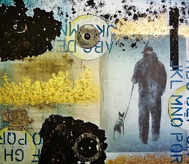 Art: The Walk by Artist Vicky Helms