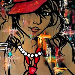 Art: abstract 470 3030 Original Abstract Art EDM by Artist Thomas C. Fedro