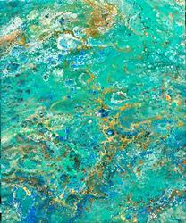 Art: Blue Bayou by Artist Ulrike 'Ricky' Martin