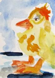 Art: Big Foot Duck by Artist Delilah Smith