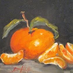 Art: Tangerine by Artist Delilah Smith