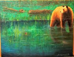 Art: GONE HOME by Artist Rosemary Margaret Daunis