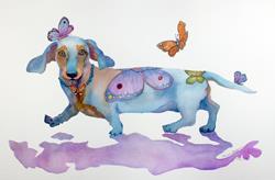 Art: BUTTERFLY DOXIE DOO by Artist Marcia Baldwin