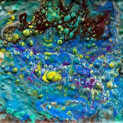 Art: Waterlilly by Artist Ulrike 'Ricky' Martin