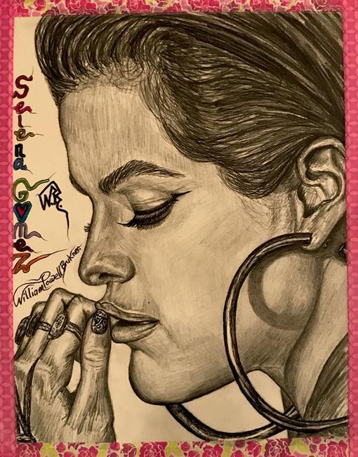 Art: PERFECTLY-AMAZING ~SELENA~GORGEOUS~GOMEZ~ by Artist William Powell Brukner