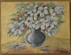 Art: flower by Artist MarikasPaintings