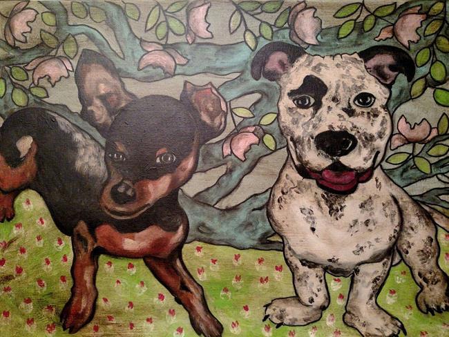 Art: Best Friends by Artist Chris Jeanguenat