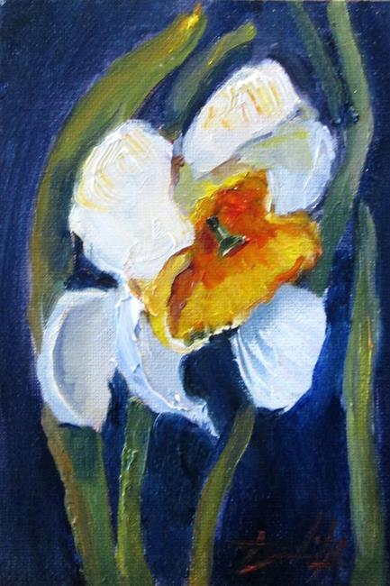 Art: Daffodil Study by Artist Delilah Smith