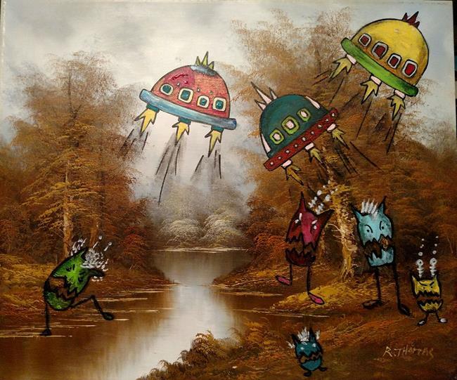 Art: The Arrival by Artist Chris Jeanguenat