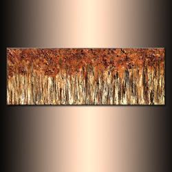 Art: golden forest 3 by Artist HENRY PARSINIA